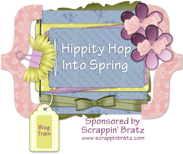Hippity Hop Blog Train