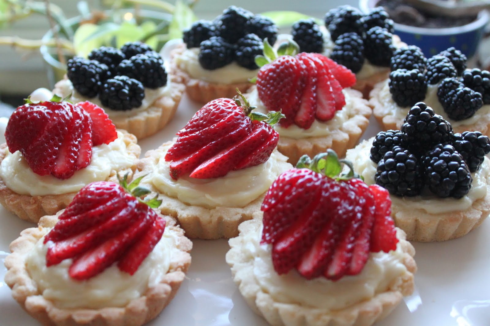 with Cristine picked Quick Classic Berry Tart. This sweet buttery tart ...