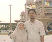 My beloved parents 'Abah & Umie'