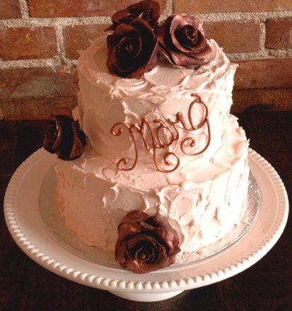 [rose+cake]