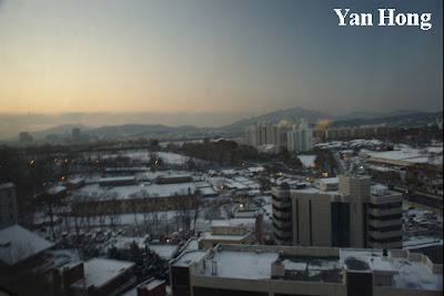 Cold Winter In South Korea