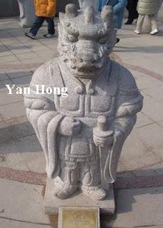 Chinese zodiac statue