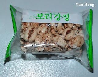 Makanan Ringan Bijirin Korea Selatan