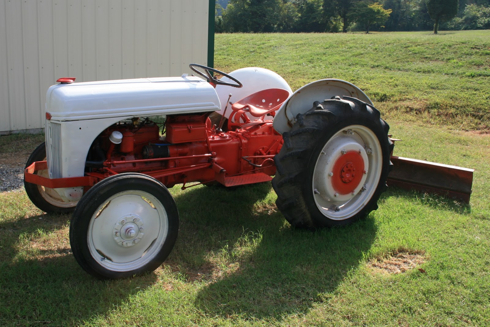Ford 9n Mower : Off the map ford n