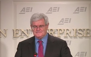 AEI Address by Newt Gingrich  VIDEO PODCAST