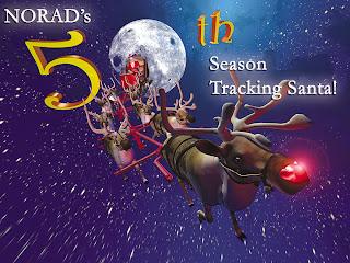 NORAD tracking Santa Claus Wallpaper