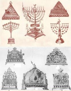 Historic Chanukkah menorahs