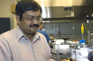 Pratim Biswas, Ph.D., the Stifel and Quinette Jens Professor and chair of the Department of Energy, Environmental and Chemical Engineering