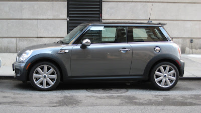 metallic grey mini cooper