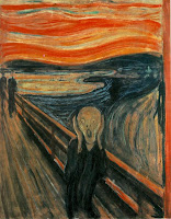 The Scream. 1893. Oil, tempera and pastel on cardboard.