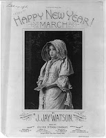 Happy New Year March, REPRODUCTION NUMBER:  LC-USZ62-50167, Library of Congress Prints and Photographs Division.