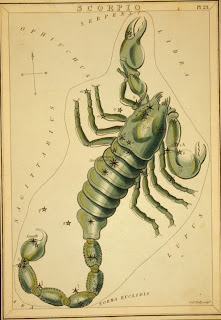 Astrological Signs Scorpio, Credit Line: Library of Congress, Prints & Photographs Division, [reproduction number, LC-USZC4-10069]