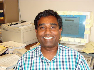 Umar Mohideen is a professor of physics at UCR. Image credit: UCR.