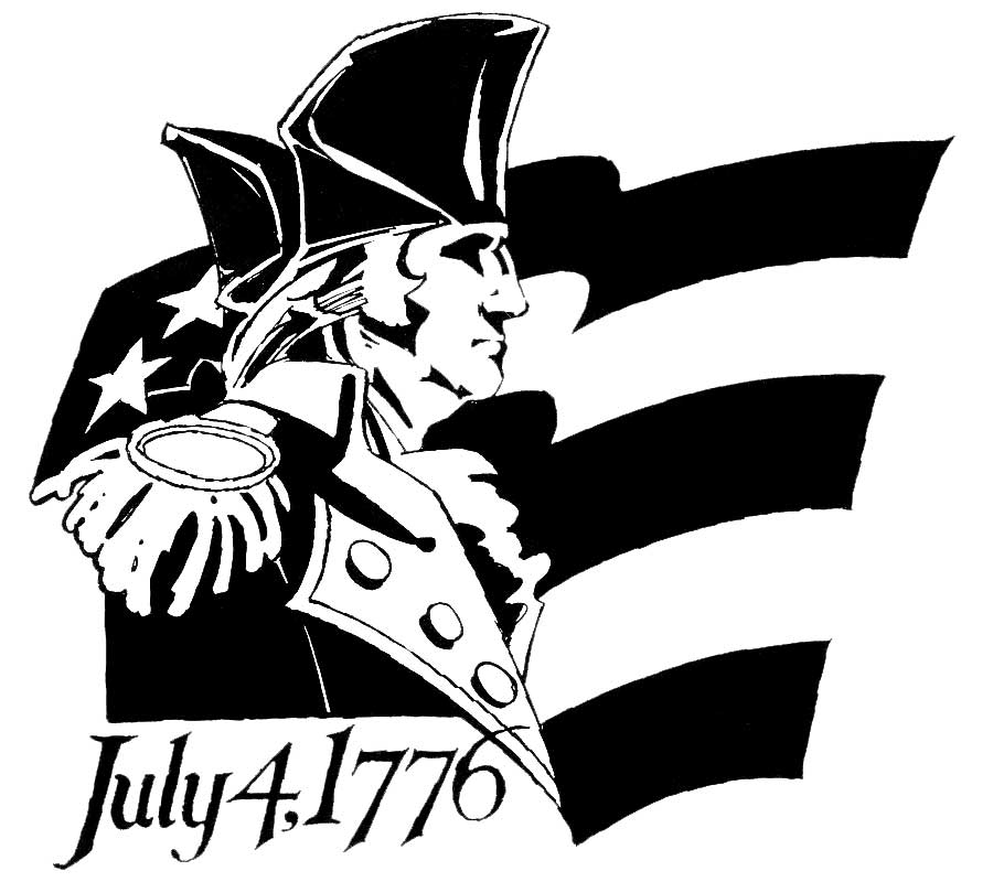 4th of July 1776  Washington, American Forces Information Service