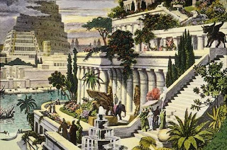 Seven Wonders of the World Hanging Gardens of Babylon by Maarten van Heemskerck