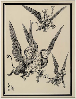 Wizard of Oz Flying Monkeys ClipArt Image
