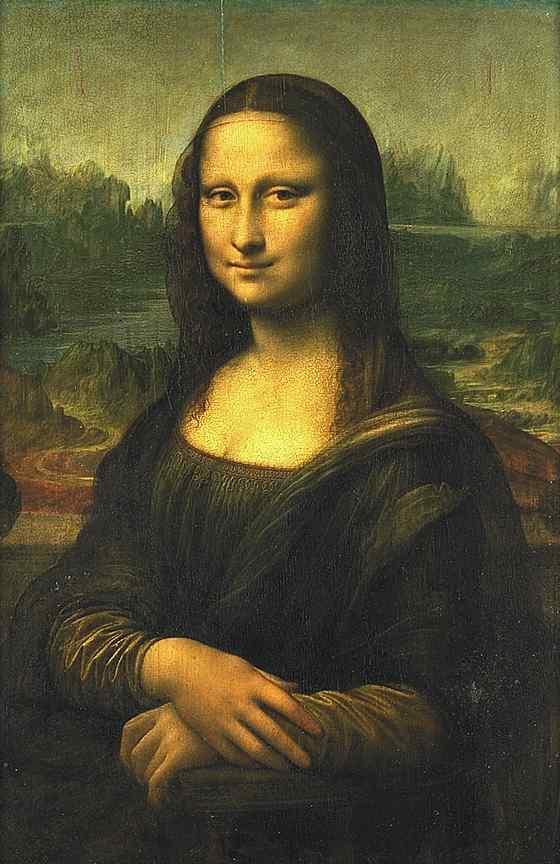 Mona Lisa La Gioconda (La Joconde) Leonardo Da Vinci.