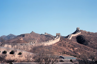Great Wall of China, Photographer: George Saxton, NESDIS, NOAA