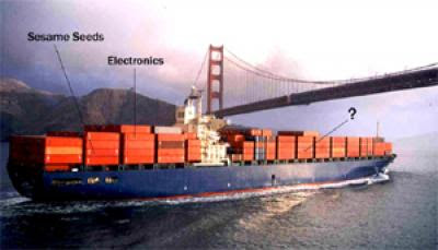 Caption: A ship pulling out from San Francisco. Credit: DHS, Usage Restrictions: None.