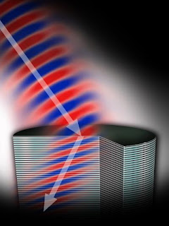 Novel semiconductor structure bends light 'wrong' way -- the right direction for many applications
