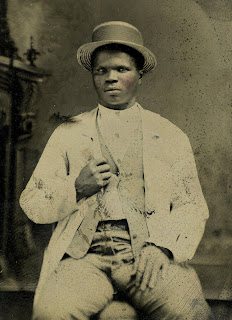 Union Army veteran John Pinkey