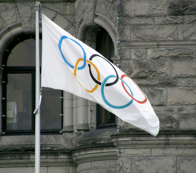 Winter Olympics 2010 Flag