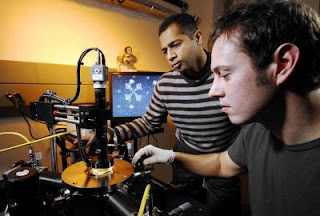 Researchers Raghunath Murali and graduate student Kevin Brenner