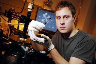 Graduate student Kevin Brenner