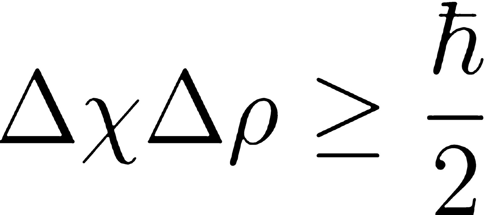 Werner Heisenberg Uncertainty Principle Equation