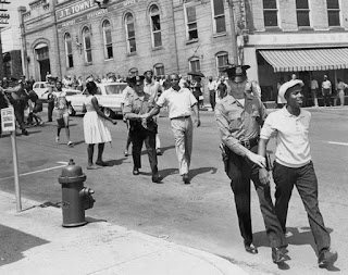 civil rights demonstrators