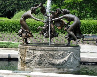Untermyer Fountain Conservatory Garden Central Park