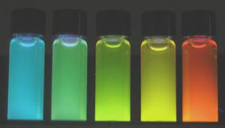 luminescent, water soluble quantum dots
