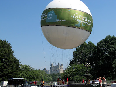 Helium Balloon Ride Central Park New York City