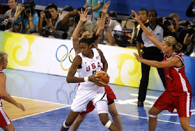 Olympic Basketball Lisa Leslie