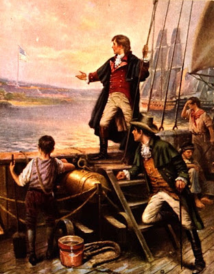 francis scott key on a ship