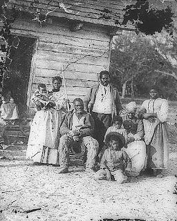 Five generations on Smith's Plantation, Beaufort, South Carolina