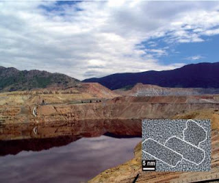 The Berkeley Pit in Butte, Mont., USA