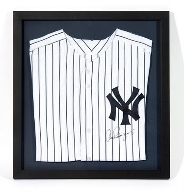 New York Yankee Jersey Signed by Alex Rodriguez