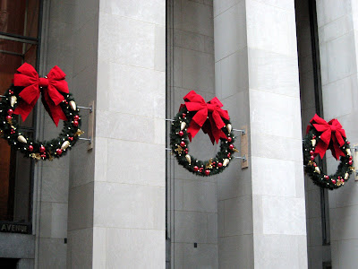 Rockefeller Center Christmas Wreaths