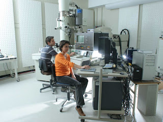 microscopes of the electron microscopy facility