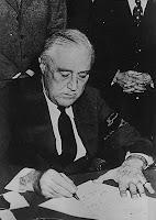 Franklin Delano Roosevelt 12/08/41