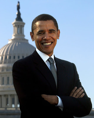 Barack Obama official Congressional portrait