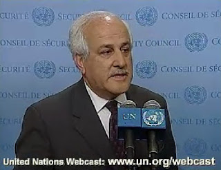 Riyad Mansour 12/28/08 VIDEO