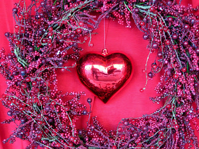 heart valentine. Valentine Heart and Wreath