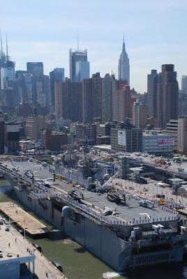 USS Iwo Jima (LHD 7) arrives in New York for Fleet Week New York 2010