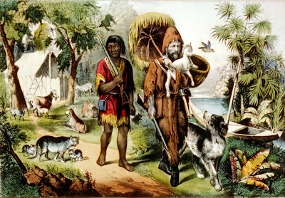 Robinson Crusoe and Friday