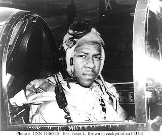 Ensign Jesse LeRoy Brown, USN, (1926-1950)