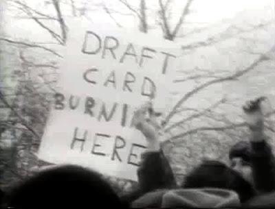 Draft Card Burning Here