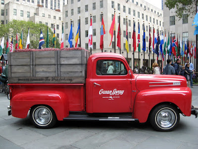 Red Ford Pick-up Truck 1949 F-1