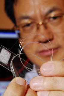 Zhong Lin Wang with 3-D Solar Cell